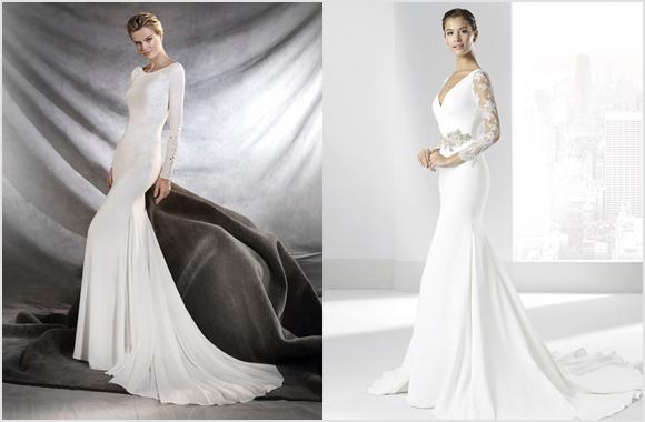 Vestidos de novia para temporada de invierno
