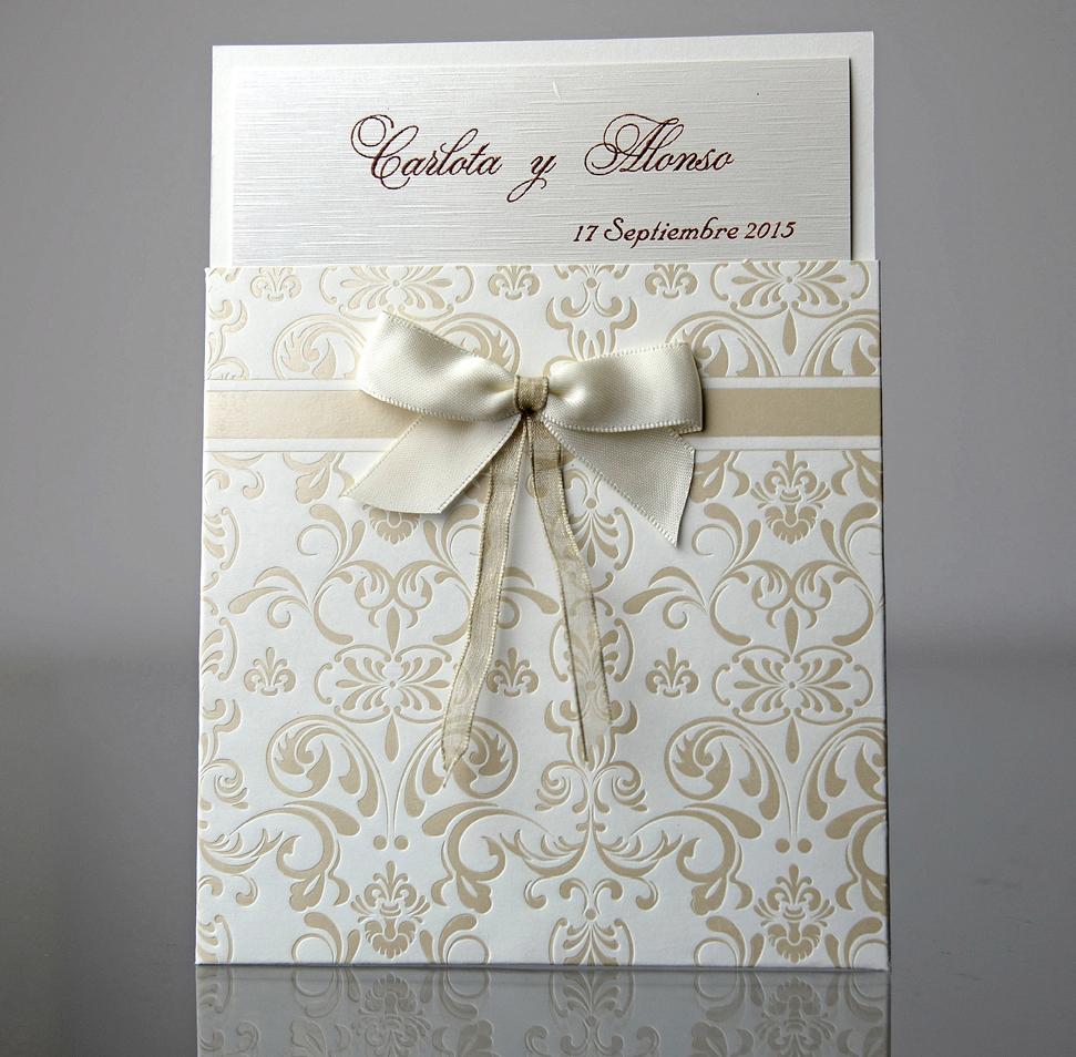 invitacion de boda clarisa - Invitaciones De Boda Elegantes