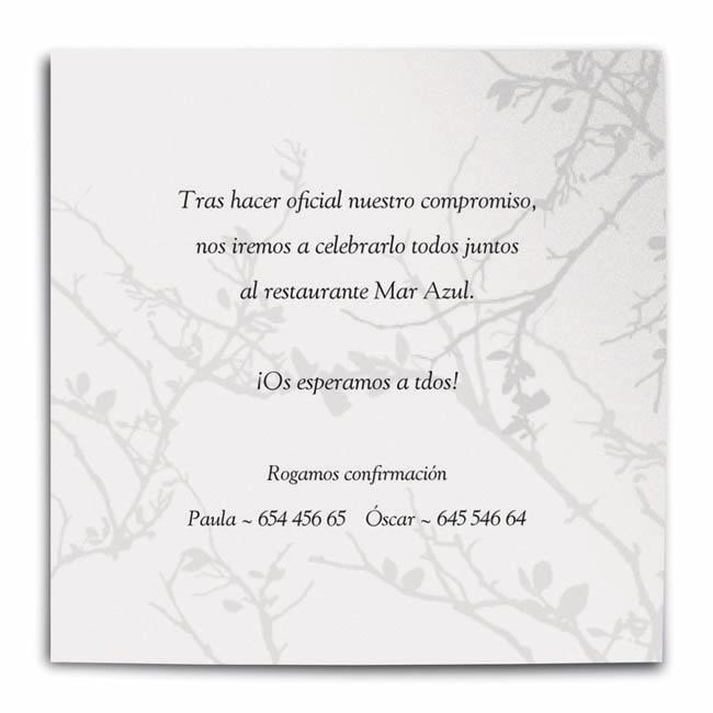 Invitaci n de boda poema invitaciones de boda for Poemas para bautizo