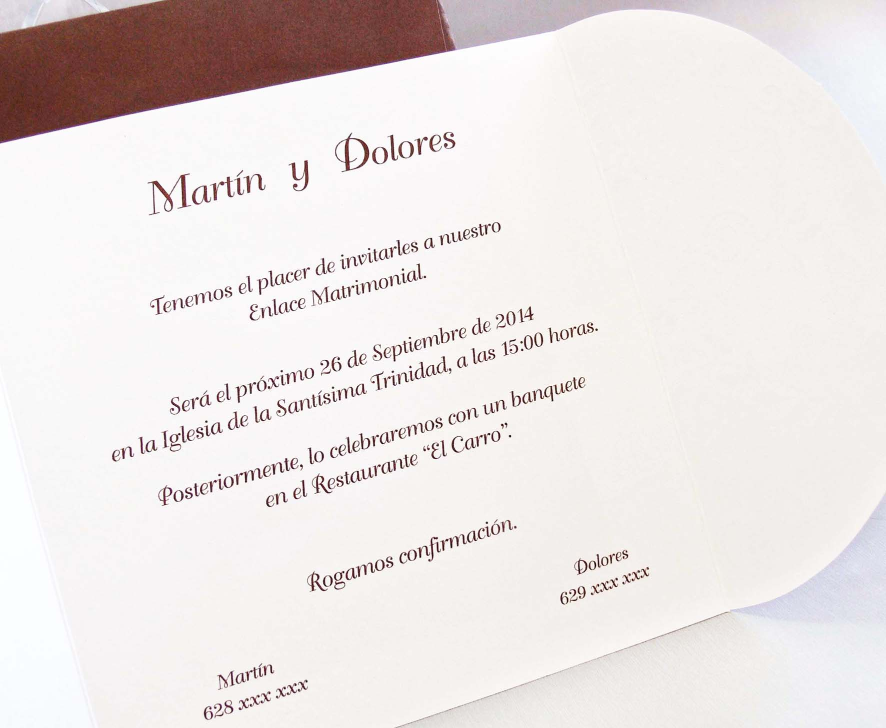 invitacin de boda praga