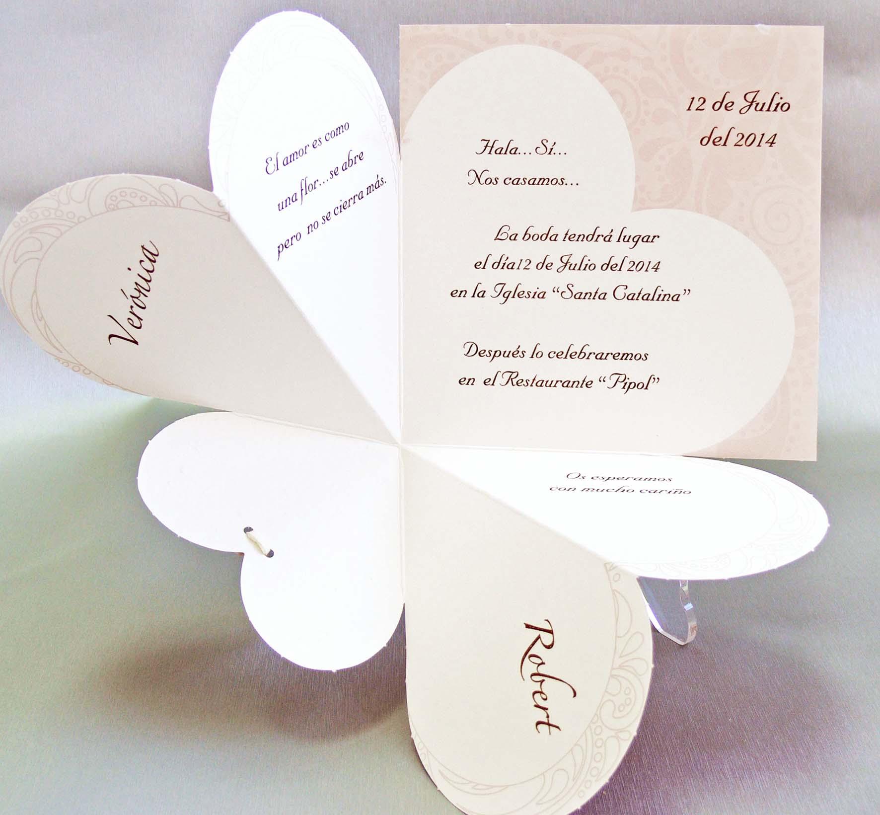 Invitaci n de boda 32826 - Como preparar mi boda ...