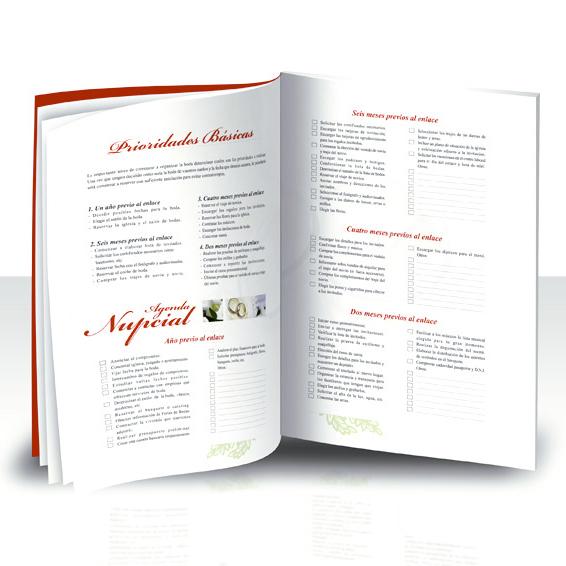 libro planificador de boda