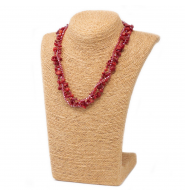 Collar Chipstone - Coral rojo