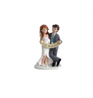 "Figura pastel "" Just Married"""