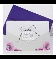 Invitación de boda amapola