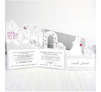 Invitación de boda boyfriends