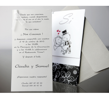 Invitacion de Boda Happyness