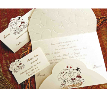 Invitación de Boda Lovers