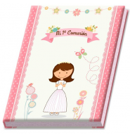 Álbum comunión niña