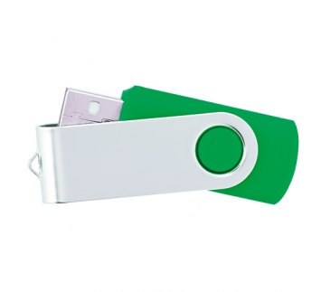 MEMORIA USB 8 GB COLOR VERDE